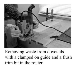 Dovetail-waste